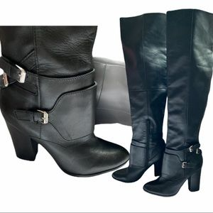 DISCOUNTED! 10/10 over the knee leather boot ALDO.